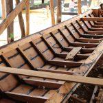 インレー湖の造船所