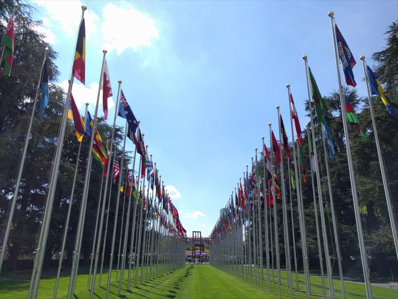 ジュネーブ国際連合欧州本部(Palais des Nations)